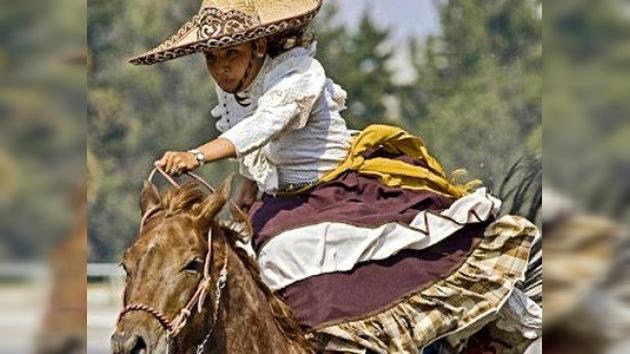 Las mexicanas se suben al carro de la charrería