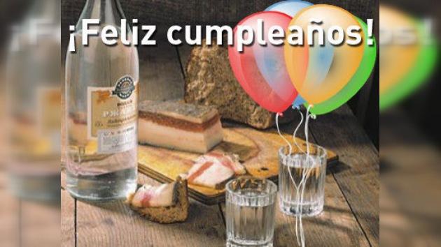 ¡Feliz cumpleaños, vodka!