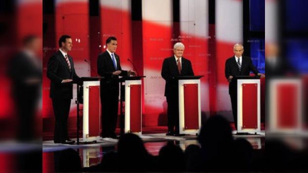 """Candidatos republicanos a favor de usar """"cualquier recurso"""" para derrocar a Castro"""