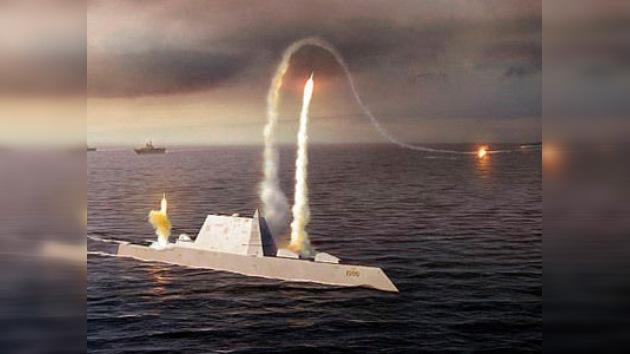 EE. UU. se embarca en la construcción de dos buques de guerra Zumwalt