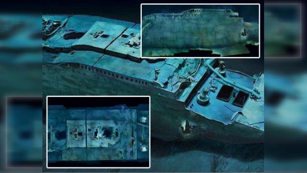 Publicadas primeras imágenes submarinas que muestran el Titanic al completo
