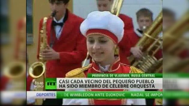 Pequeño pueblo ruso con gran talento musical