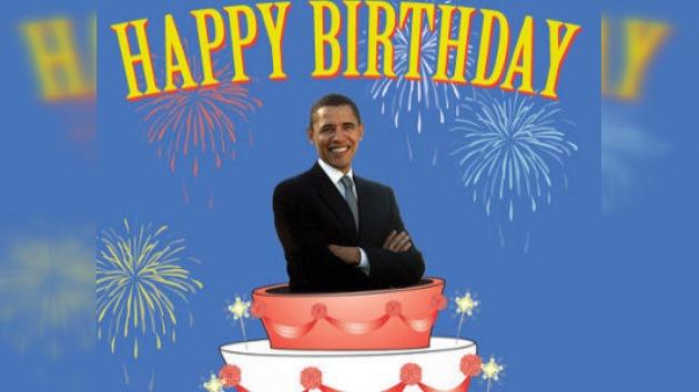 La seguridad deja a Obama sin tarta de cumpleaños