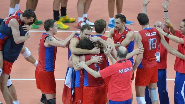 Londres 2012: Rusia se adjudica el oro en voleibol masculino