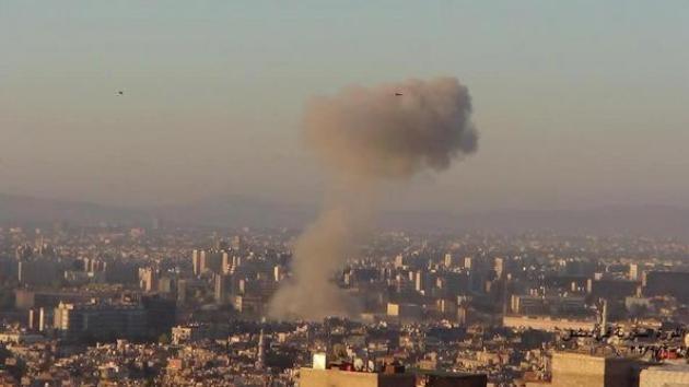 El ministerio sirio de Defensa, posible objetivo de la explosión más fuerte que sacude Damasco