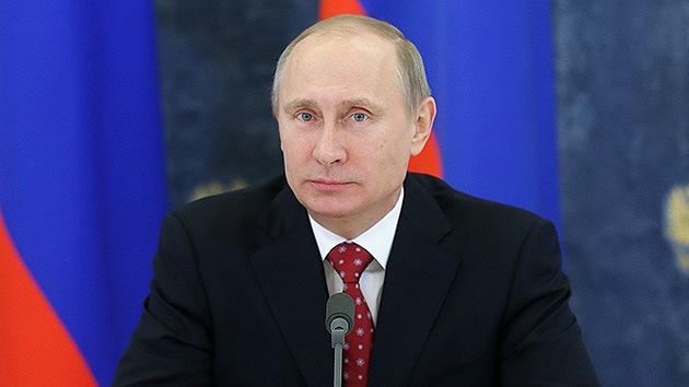 Vladímir Putin, hombre del año según 'The Times'