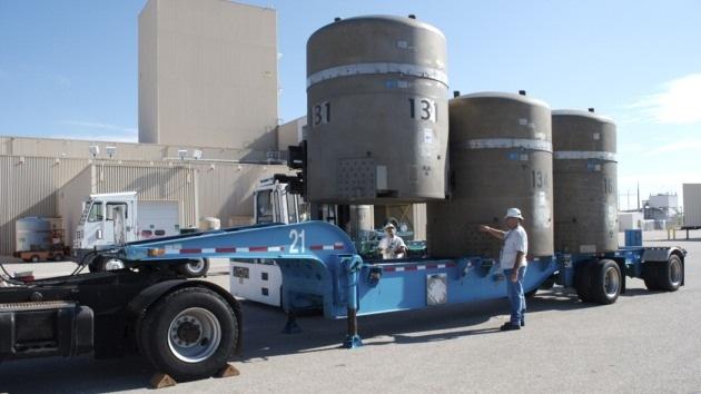 EE.UU.: Incendio en un almacén de residuos nucleares