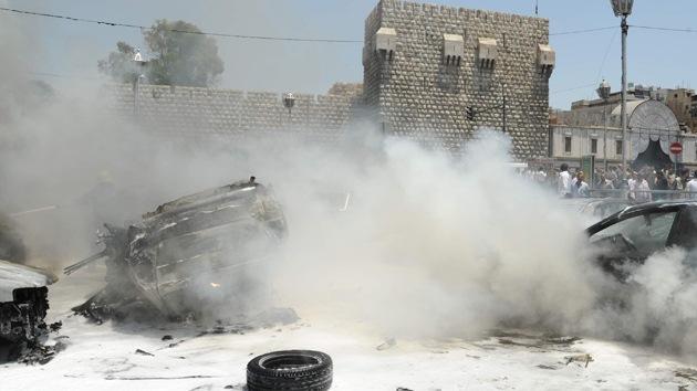 Al menos un muerto en un doble atentado con bombas en Damasco