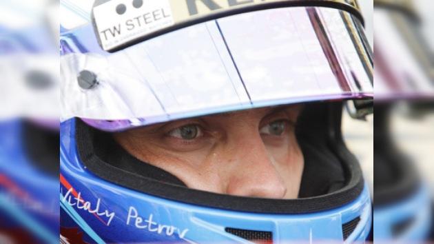Fórmula 1: patrocinadores acercan a Vitali Petrov al equipo Caterham