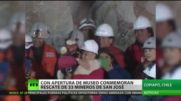 Chile inaugura museo sobre el rescate de los 33 mineros de San José
