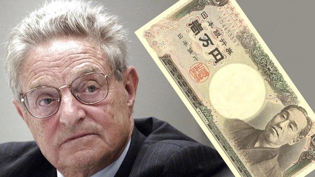 George Soros considera peligroso que Japón deje caer el yen