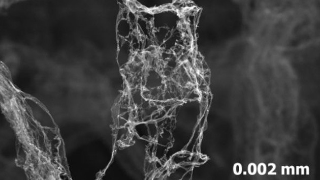 La física estira sus propios límites: crean un material superflexible más ligero que el aire
