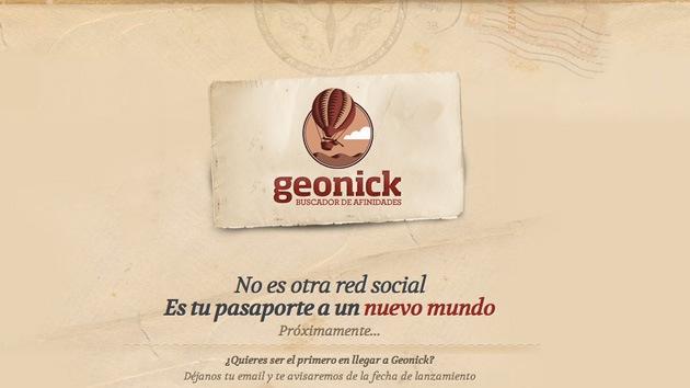Llega Geonick, la selección virtual de amigos