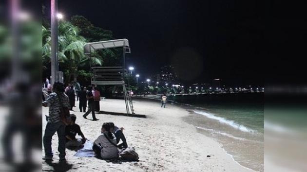 Cámaras en la playa tailandesa contra la prostitución y los actos impúdicos