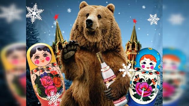 El oso, el vodka y la matrioshka, símbolos de Rusia