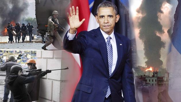 Las siete frases más hipócritas del discurso de Obama en Bruselas