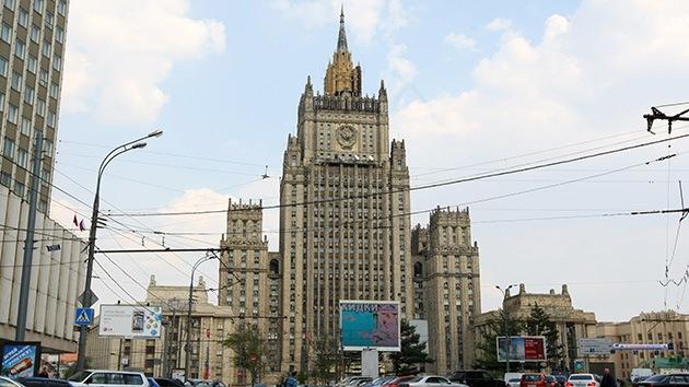 """Rusia: """"Occidente debe abstenerse de hacer declaraciones provocativas sobre Ucrania"""""""
