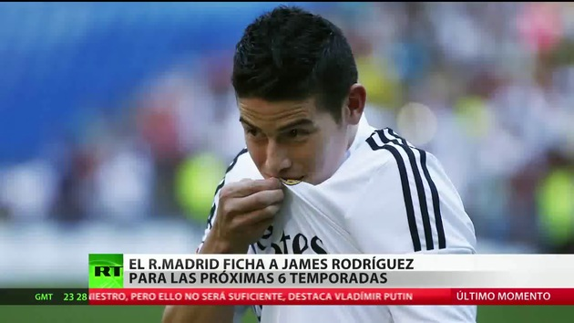 El Real Madrid ficha a James Rodríguez por 80 millones de euros