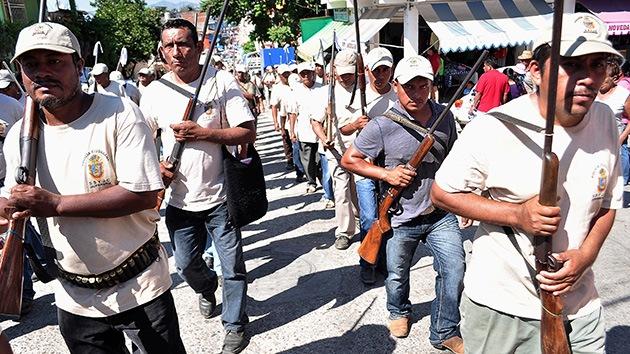 Las autodefensas se hacen fuertes en México y ya se forman en la periferia de la capital