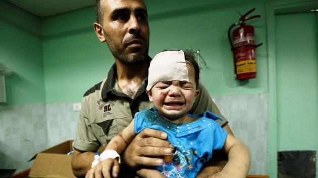 Los horrores diarios de la Franja de Gaza