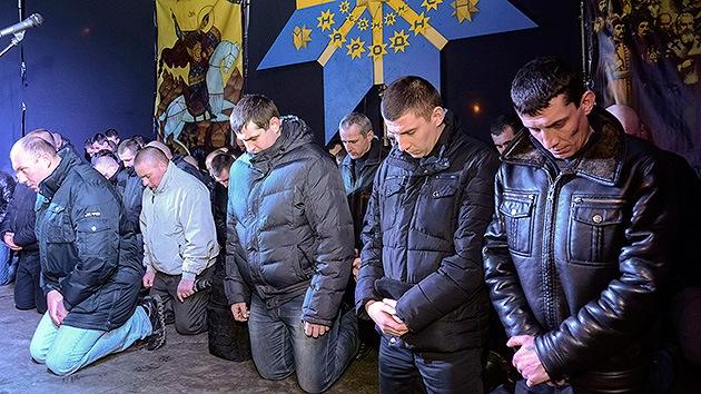 Rusia empieza a expedir pasaportes a los ucranianos miembros del Bérkut