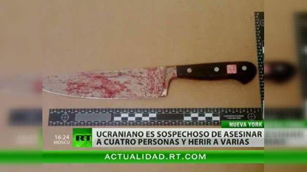 Joven de origen ucraniano, acusado de asesinato múltiple en Nueva York