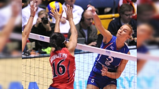 Rusia vence a EE. UU. y clasifica para la final del Mundial de vóleibol