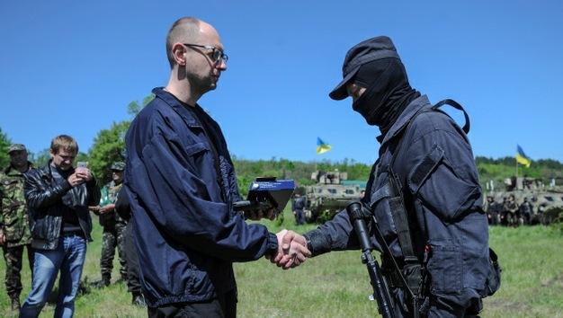Kiev compara la operación de castigo en el sureste con la hazaña del Ejército Rojo