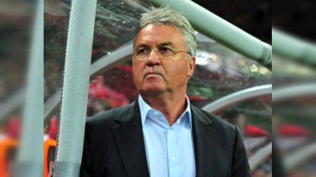 Hiddink vuelve a Rusia: llegó a un acuerdo verbal con el Anzhí