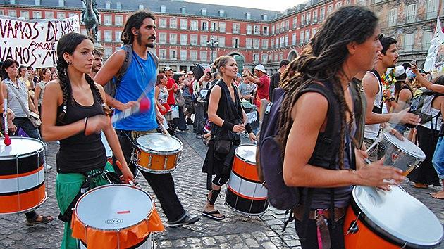 España y Grecia, unidas por la indignación