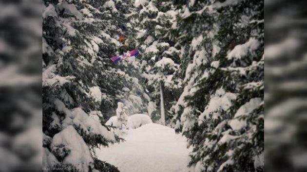 """Andrei Pirumov, fotógrafo y snowboardista: """"Volar es propio del ser humano"""""""