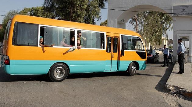 """Israel pone en marcha autobuses """"solo para palestinos"""""""