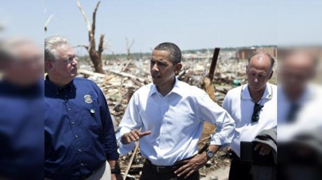 Obama califica de tragedia nacional devastaciones causadas por tornado en Misuri