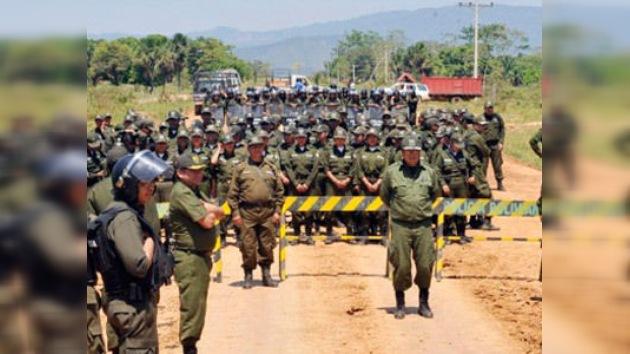 Aumenta la tensión en la marcha indígena boliviana