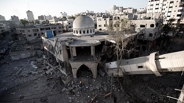 Imágenes de satélite muestran el grado de destrucción en Gaza