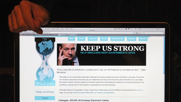 AntiLeaks contra WikiLeaks: desactivan el portal de Assange durante una semana