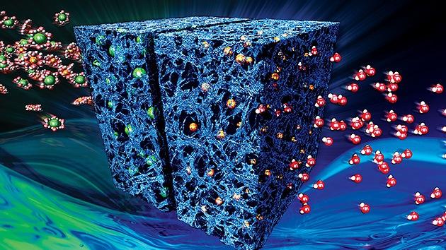 Un detector especial para buscar materia oscura