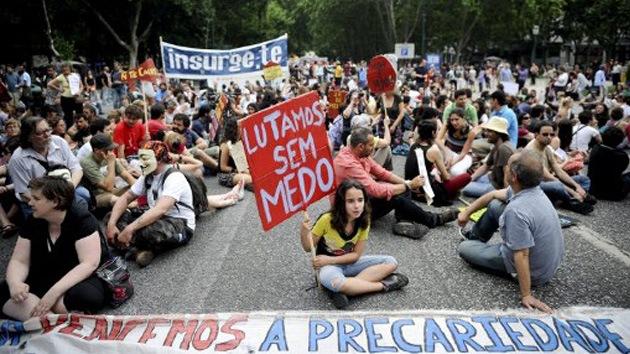 España despierta de nuevo las protestas en toda Europa