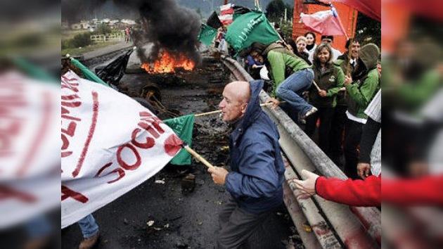 El Gobierno chileno no cede frente al movimiento social en la región de Aysén