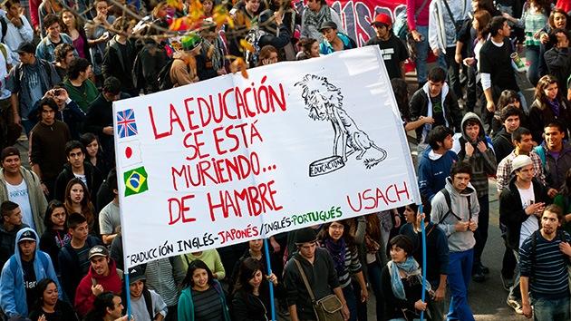 Chile: La rebelión estudiantil no piensa parar