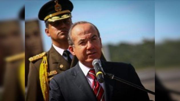 México logró capturar a casi todos los criminales peligrosos, según Calderón