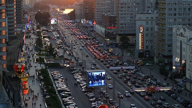 Una explosión en el centro de Moscú deja al menos 2 heridos