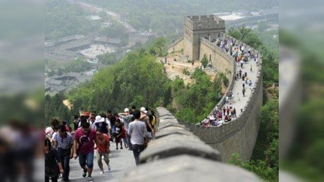 ¿Está la Gran Muralla China al borde de la destrucción?