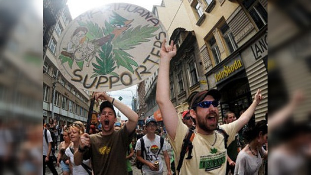 ´Global Marijuana March´: amantes del cannabis marchan para pedir la despenalización