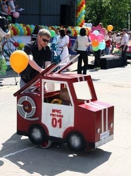 Desfiles de cochecitos de niños