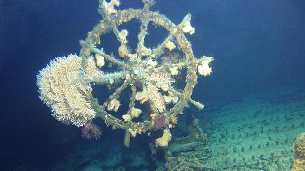 Encuentran los restos completos de un barco-fantasma de 1923 en Hawái