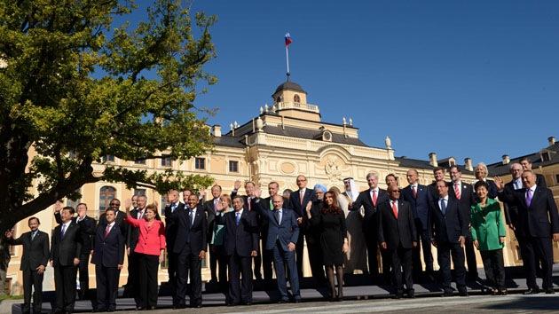 Marcada por la crisis siria concluyó la cumbre del G-20  en San Petersburgo