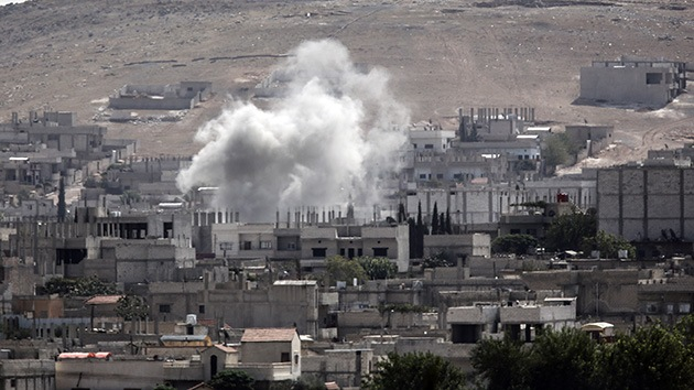 VIDEO: EE.UU. intensifica ataques aéreos contra Estado Islámico cerca de Kobani