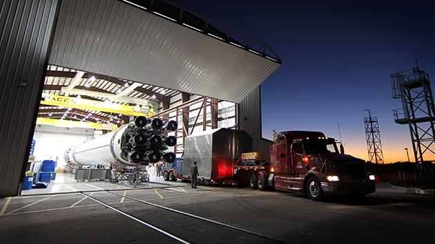 El carguero espacial estadounidense Dragon partirá a la Estación Espacial Internacional