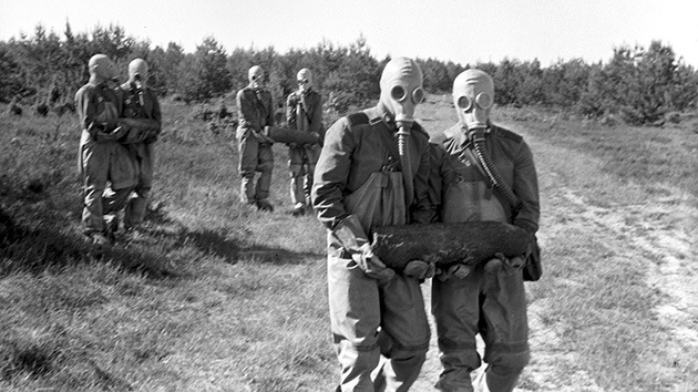 Mares tóxicos en Europa, legado de armas químicas de las Guerras Mundiales y Kosovo